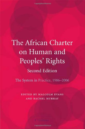 African Charter on Human and Peoples' Rights The System in Practice 1986-2006 2nd 2008 (Revised) 9780521883993 Front Cover