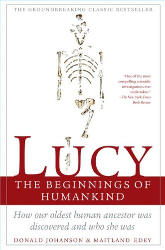 Lucy The Beginnings of Humankind  1990 edition cover
