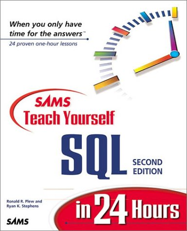 Sams Teach Yourself SQL in 24 Hours  2nd 2000 9780672318993 Front Cover