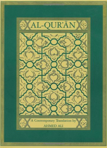 Al-Qur'an A Contemporary Translation  2001 (Revised) edition cover