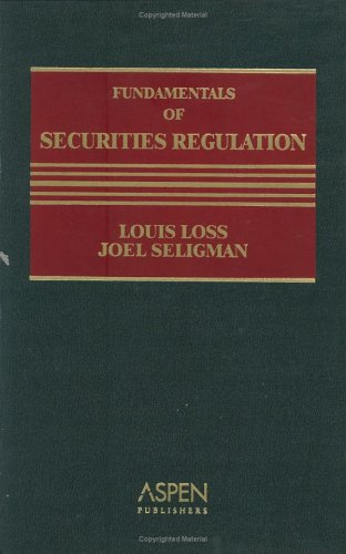 Fundamentals of Securities Regulation  5th 2003 (Revised) edition cover