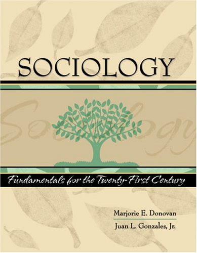 SOCIOLOGY-TEXT ONLY 1st 9780757516993 Front Cover