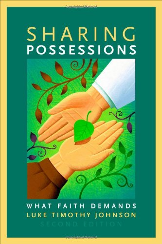 Sharing Possessions What Faith Demands, Second Edition 2nd 2011 edition cover