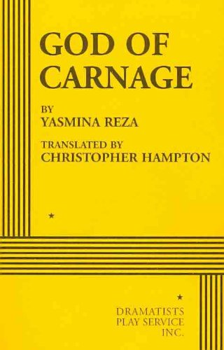 God of Carnage A Play  2010 edition cover