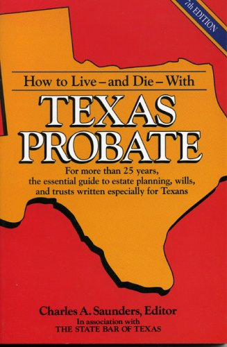 Texas Probate  7th (Revised) 9780884153993 Front Cover