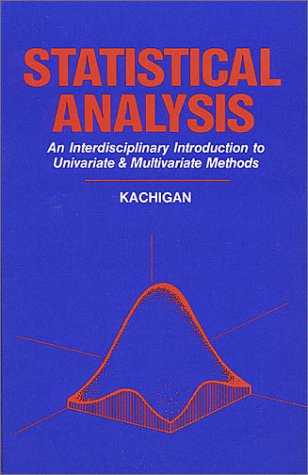 Statistical Analysis : An Interdisciplinary Introduction to Univariate and Multivariate Methods 2nd 1986 edition cover
