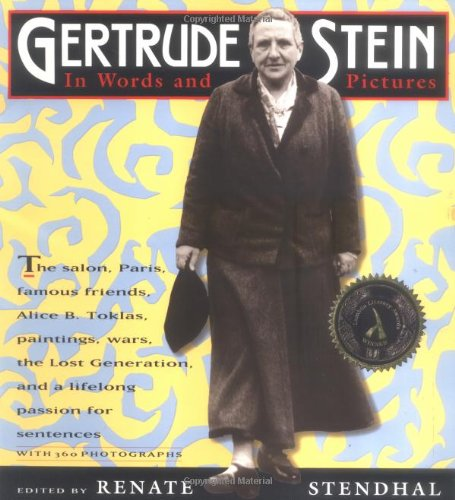 Gertrude Stein In Words and Pictures  1994 edition cover