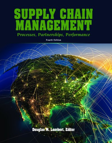 Supply Chain Management Processes, Partnerships, Performance, 4th Ed 4th 9780975994993 Front Cover