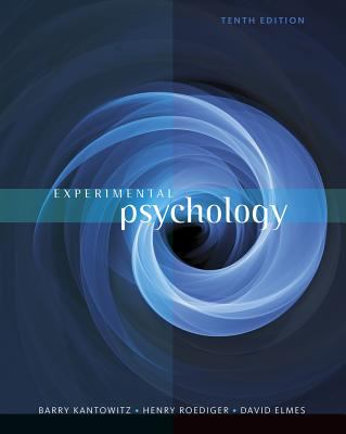 Experimental Psychology  10th 2015 edition cover