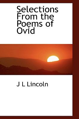 Selections from the Poems of Ovid N/A 9781113890993 Front Cover