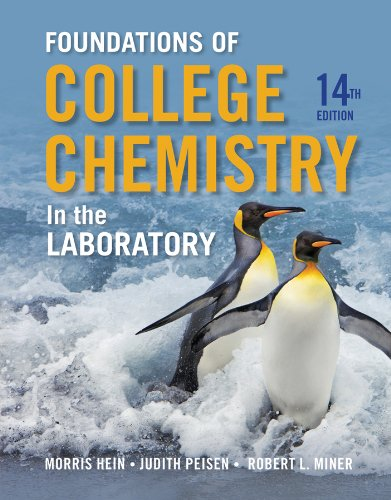 Foundations of Chemistry in the Laboratory  14th 2013 edition cover