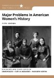Major Problems in American Women's History  5th 2014 edition cover
