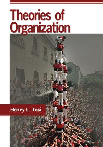 Theories of Organization   2009 edition cover