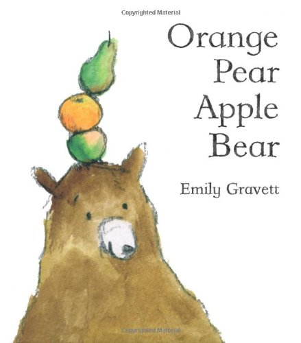 Orange Pear Apple Bear   2007 edition cover