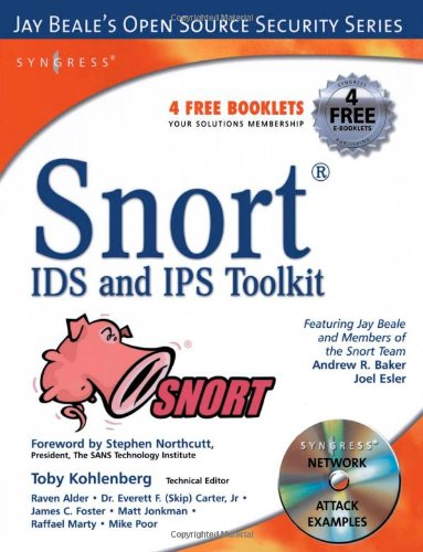 Snort Intrusion Detection and Prevention Toolkit  N/A edition cover