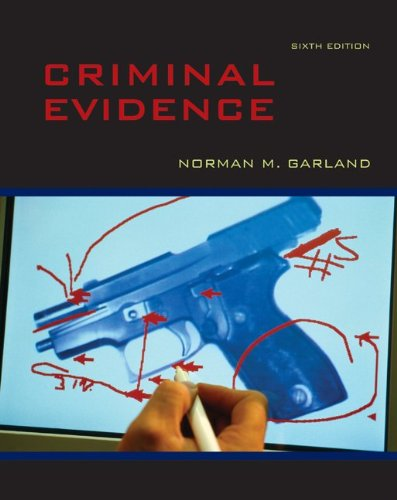 Criminal Evidence  6th 2011 edition cover
