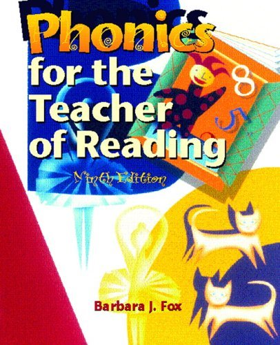 Phonics for the Teacher of Reading Programmed for Self-Instruction 9th 2006 (Revised) 9780131177994 Front Cover