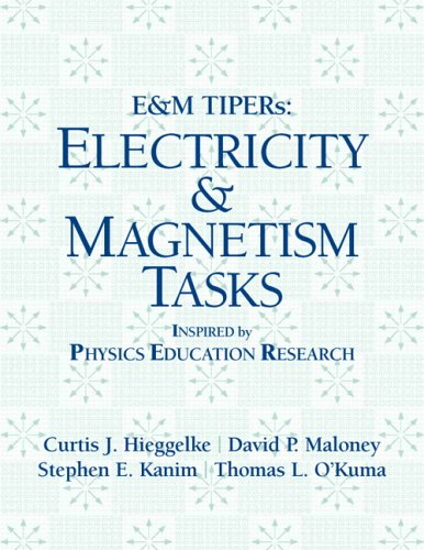 Electricity and Magnetism Tasks   2006 edition cover