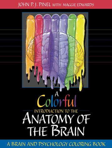 Colorful Introduction to the Anatomy of the Human Brain A Brain and Psychology Coloring Book  1998 edition cover