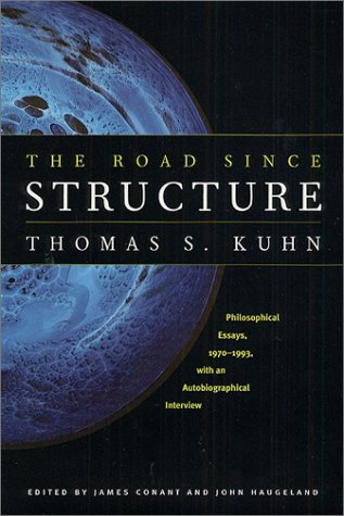 Road since Structure Philosophical Essays, 1970-1993, with an Autobiographical Interview  2000 edition cover