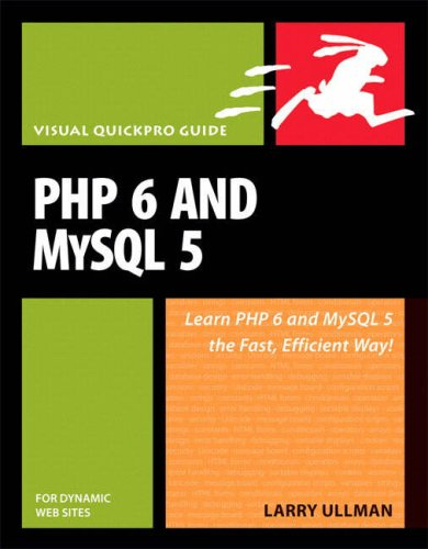 PHP 6 and MySQL 5 for Dynamic Web Sites  3rd 2008 9780321525994 Front Cover