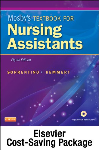 Mosby's Textbook for Nursing Assistants (Soft Cover Version) - Text, Workbook, and Mosby's Nursing Assistant Video Skills - Student Version DVD 4. 0 Package  8th edition cover