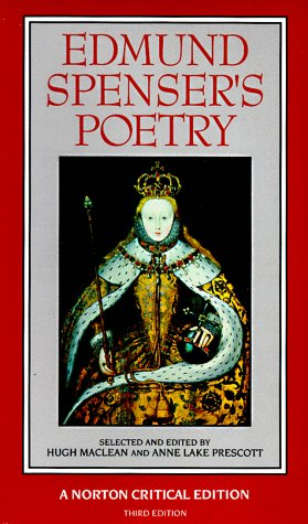 Edmund Spenser's Poetry Authoritative Texts, Criticism 3rd 1993 edition cover