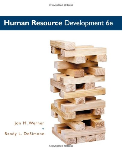 Human Resource Development  6th 2012 edition cover