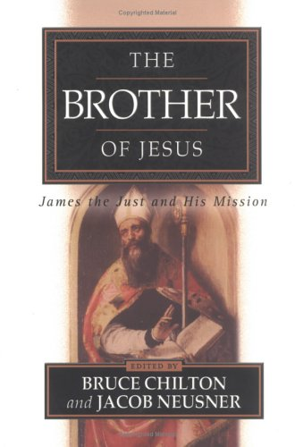 Brother of Jesus James the Just and His Mission  2001 edition cover