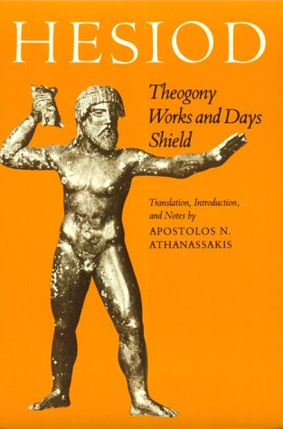 Hesiod Theogony, Works and Days, Shield  1983 edition cover