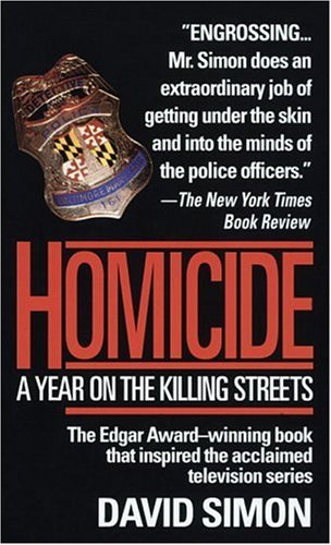 Homicide  1991 edition cover