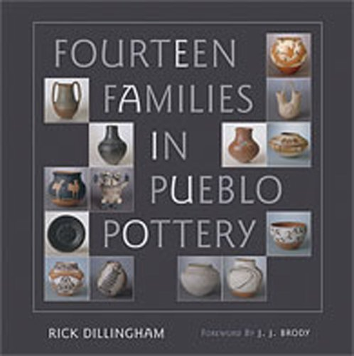 Fourteen Families in Pueblo Pottery   1994 edition cover