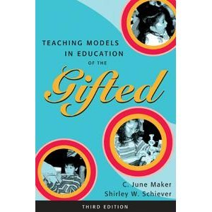 Teaching Models in Education of the Gifted  3rd 2004 9780890799994 Front Cover