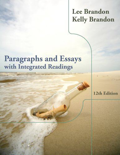Paragraphs and Essays With Integrated Readings 12th 2013 edition cover