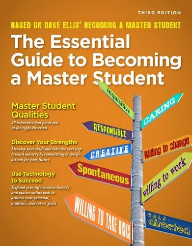 The Essential Guide to Becoming a Master Student:   2013 edition cover