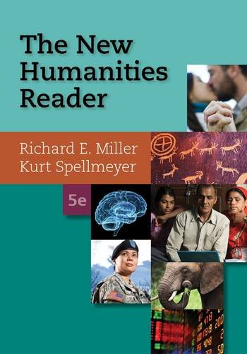 The New Humanities Reader:   2014 edition cover