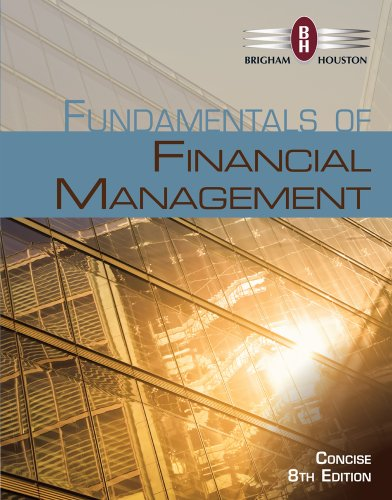 Fundamentals of Financial Management  8th 2015 edition cover