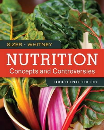 Nutrition: Concepts and Controversies  2016 9781305627994 Front Cover