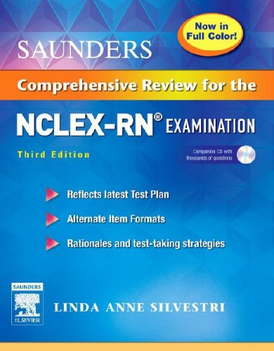 Saunders Comprehensive Review for the NCLEX-RN Examination  3rd 2006 (Revised) edition cover