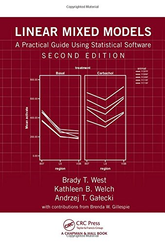 Linear Mixed Models: A Practical Guide Using Statistical Software  2014 edition cover