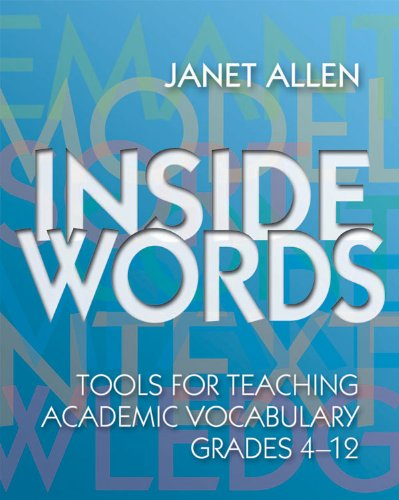 Inside Words   2007 edition cover
