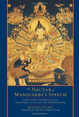 Nectar of Manjushri's Speech A Detailed Commentary on Shantideva's Way of the Bodhisattva  2010 edition cover