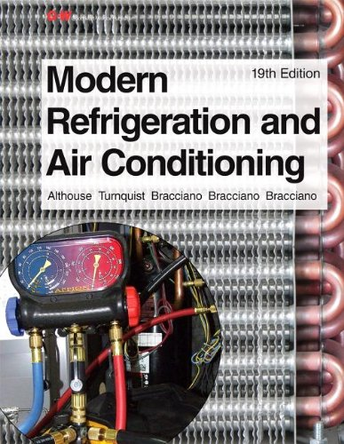 Modern Refrigeration and Air Conditioning:   2013 edition cover