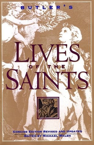 Butler's Lives of the Saints  Revised edition cover