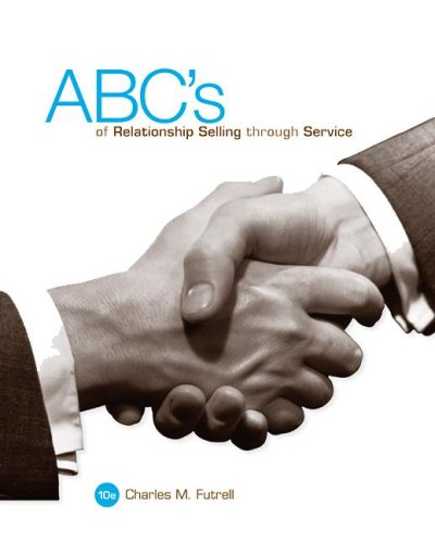 ABC's of Relationship Selling Through Service  10th 2009 9780073380995 Front Cover