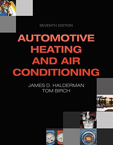 Automotive Heating and Air Conditioning:   2014 edition cover