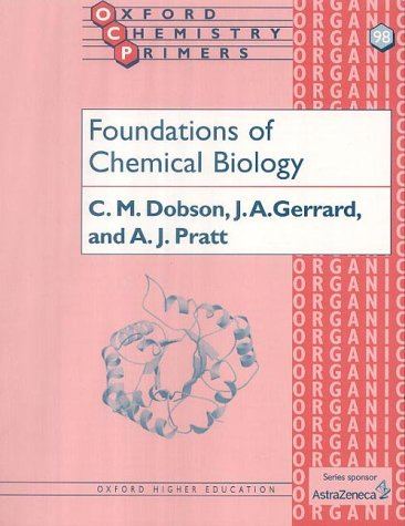 Foundations of Chemical Biology   2001 edition cover