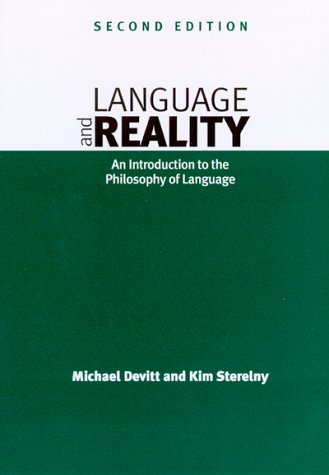 Language and Reality An Introduction to the Philosophy of Language 2nd 1999 edition cover