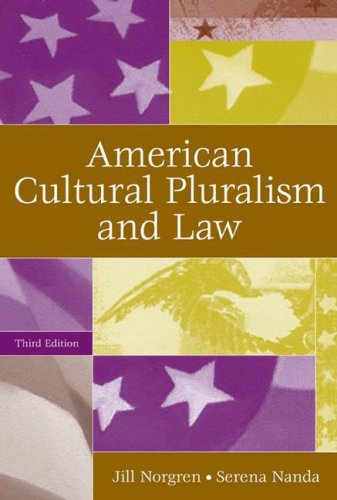American Cultural Pluralism and Law  3rd 2006 (Revised) 9780275986995 Front Cover