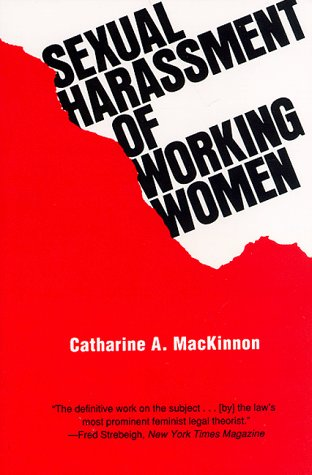 Sexual Harassment of Working Women A Case of Sex Discrimination  1979 edition cover